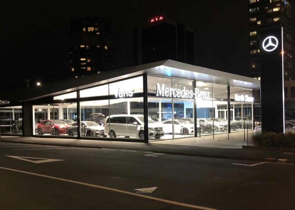Mercedes Benze North Shore